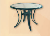 alu gartentisch teaktisch glastisch alutisch von batavia. Black Bedroom Furniture Sets. Home Design Ideas